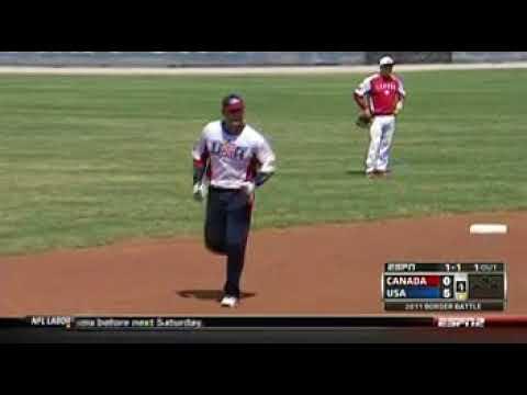 2011 Slow Pitch Softball USA Vs Canada