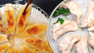 Tofu Recipe | How To Make Vegan Dumplings From Scratch! [Homemade Frozen Tofu, Sauerkraut, Mushroom]