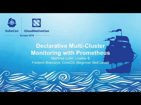 Declarative Multi-Cluster Monitoring with Prometheus - Matthias Loibl, Loodse & Frederic Branczyk