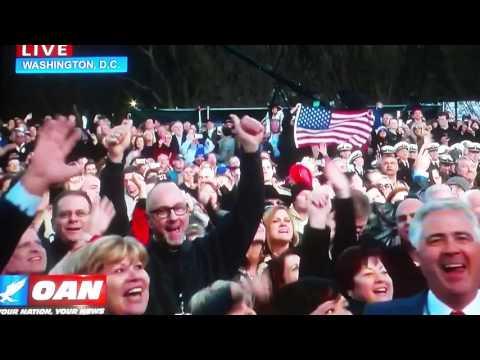 Lee Greenwood God Bless the USA at Donald J Trump's inaugural concert