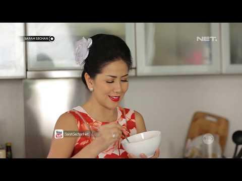 The Sarah Dan Boni Sarapan Sehat Bareng Venna Melinda