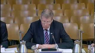 Justice Committee - Scottish Parliament: 19th November 2013