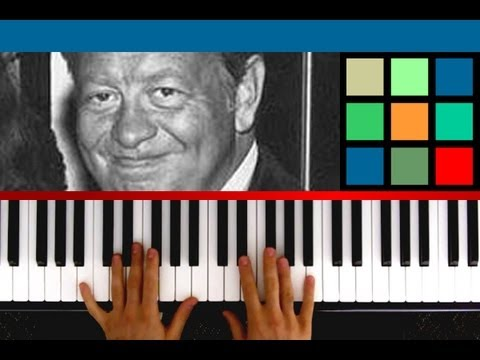 How To Play The Christmas Song Piano Tutorial / Sheet Music (Mel Torme and Robert Wells)