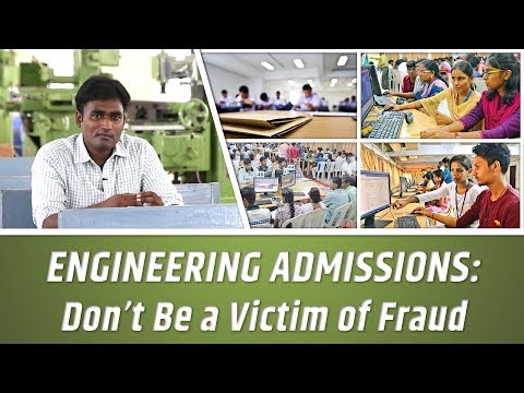 ENGINEERING ADMISSIONS: Don't Be a Victim of Fraud | LMES