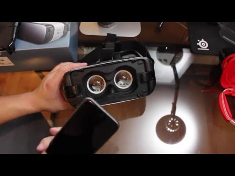 Testing Samsung Gear VR with iPhone 6s