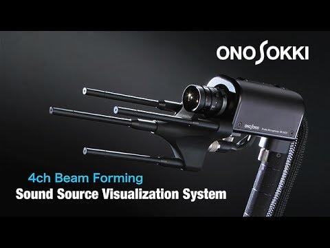 """Sound source visualization system""(New)  -ONO SOKKI-"