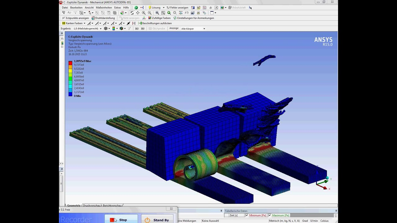 Ansys Workbench explicit dynamics AlSi 1045 with various cutting ...