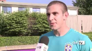 Bruno Uvini: em casa, como se ainda estivesse na Sub-20