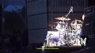 Red Hot Chili Peppers' Chad Smith - Drum Homage Medley (Live in Hyde Park 2004) (Video)