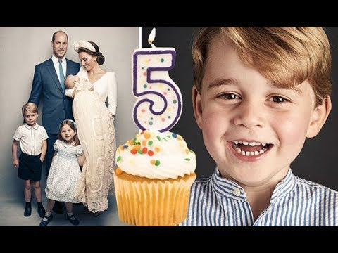 Prince George 5th birthday: Kate and William's SHOCK secret from son