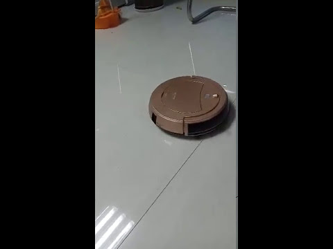 BRD520 Vacuum robot cleaner work in reality