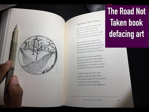 Robert Frost poetry art