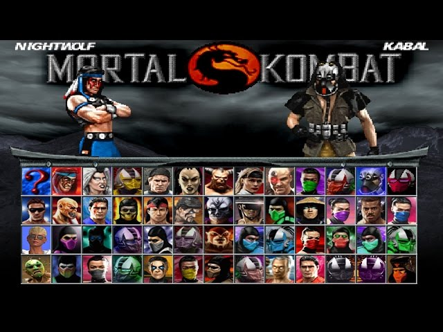 Mortal kombat project 4.1-Nightwolf vs.kabal