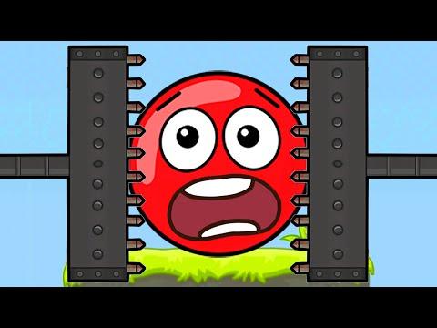Мультфильм красный шарик