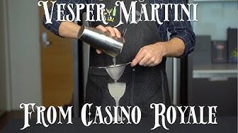 Recreated - Vesper Martini from Casino Royale
