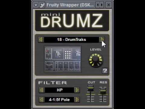 DSK Mini Drumz - Free Vintage Drum Machines