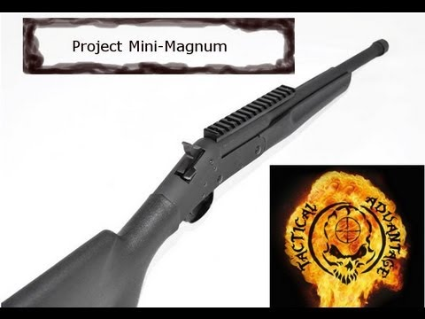 Bedding a scope base to a contoured barrel or reciever, Project Mini-Magnum Part 2