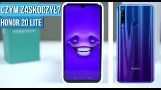 Honor 20 Lite - Recenzja - Konkurent Motorola One Vision? / Mobileo [PL]