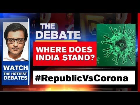 India Is Leading The Way For The World In COVID Battle? | The Debate With Arnab Goswami