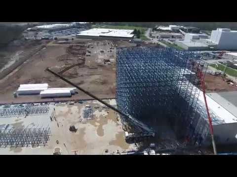 JTM Food Group - Construction Progress Video - April 2017 - Designed & Built by Tippmann Group