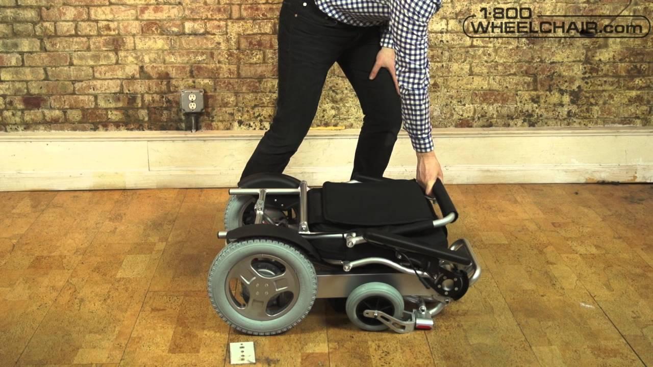 Move Lite Folding Power Chair Youtube