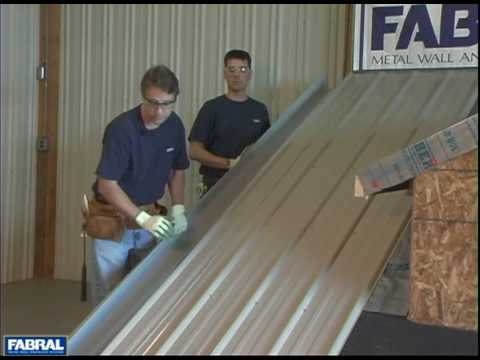 Fabral Gr3 05 Gable Trim Youtube