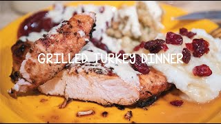 Cooking With Big Rich - Episode 19 Grilled Turkey Dinner