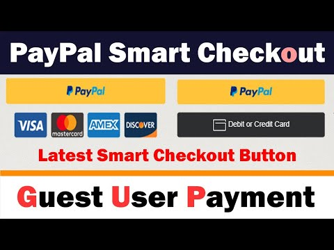 🤑💰How To Integrate PayPal Smart Button Checkout | Recommended Way [2020] 💰💰Just Copy And Paste Code