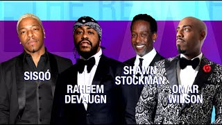 Wednesday on 'The Real': Sisqó, Shawn Stockman, Raheem DeVaughn, Omar Wilson, David Ajala