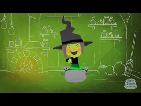 KNOCK KNOCK, TRICK OR TREAT HALLOWEEN SONG SUPER SIMPLE SONG 1