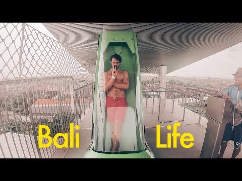 Biggest Water Slides in Asia - Bali Life