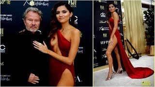 Golden Globe Awards 2018 :Actress Blanca Blanco Ditches Underwear at Golden Globe Red Carpet