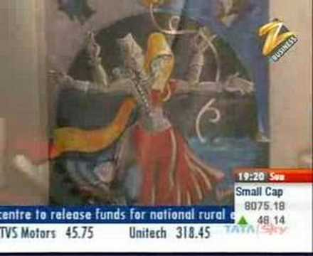 ART MALL - Zee Business Tv channel,