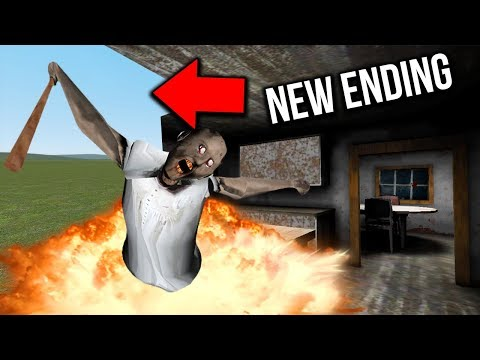 I DESTROYED Granny's House in Granny Horror Game MULTIPLAYER! (Granny Mobile Horror Game Escape)