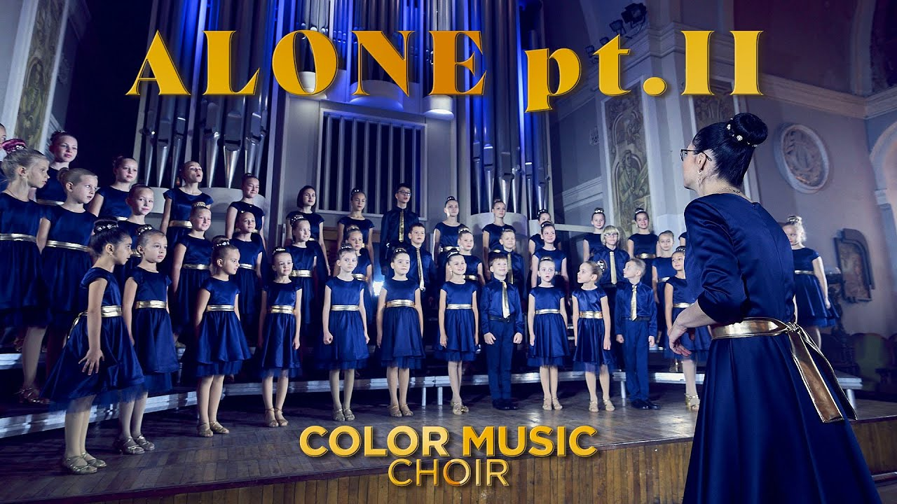 Download Alan Walker & Ava Max - Alone, Pt. II _ cover by COLOR MUSIC Choir