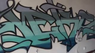 GoPro Graffiti - ABANDONED BUILDING - Heks