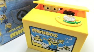 Minions Stealing Coin Saving Box (Not What I Expected)