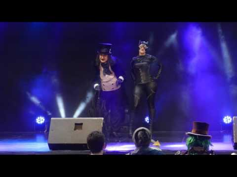 related image - Festival Mangalaxy 2016 - Concours Cosplay Samedi - 21 - Catwoman et Le Pingouin
