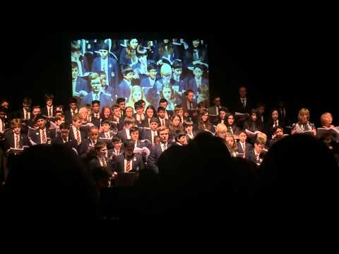 Queen Mary's grammar school spring concert  medley from les miserables
