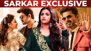 Keethy Suresh's Favorite SARKAR Song   Moments with Thalapathy Vijay