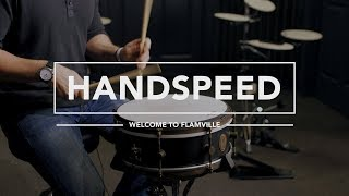 Welcome to Flamville -  Hand Speed Drum Lesson - Mikeslessons.com