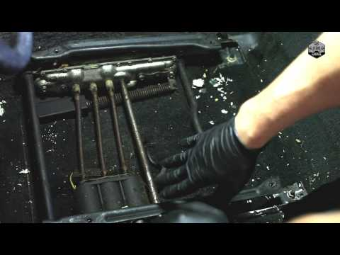 How to Remove Car Seats & Car Seat Cushions - Corvette C4 (Part 2)