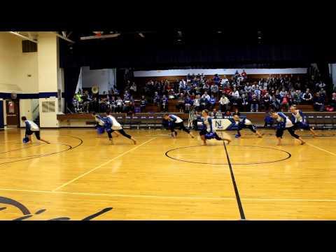New Lisbon High School Dance Team 2012