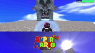 ROBLOX: Super Mario 64 beginning gameplay!