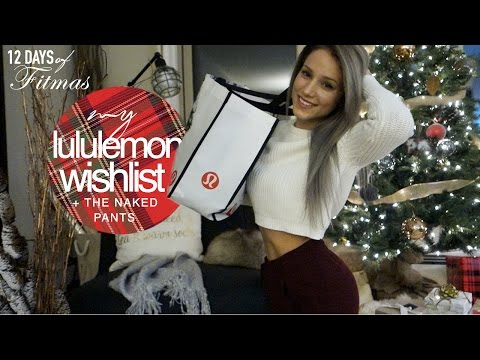 Naked Pants?! LULULEMON WISHLIST / Haul + TRY ON // Fitmas Ep.5