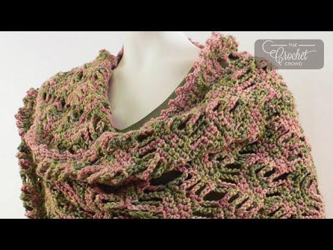 How to Crochet A Wrap: Lattice Lace Wrap