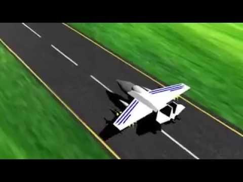 Animasi Pesawat Indonesia Lucu