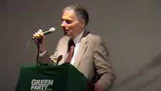 Green Party 2007 annual meeting - Ralph Nader