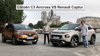 Citroën C3 Aircross VS Renault Captur : quel est le meilleur SUV urbain ?