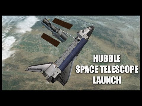 Hubble Space Telescope: Launch - Orbiter Space Flight Simulator 2010